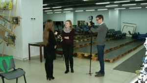 Телеканал UTV в гостях у проекта «Авоська дарит надежду»